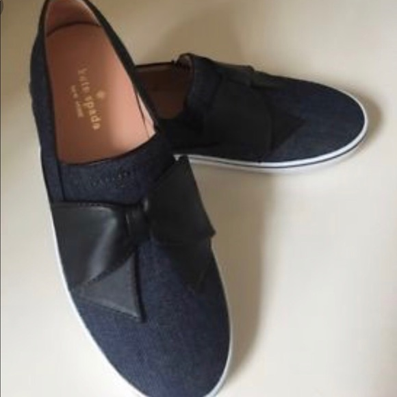 kate spade bow sneakers